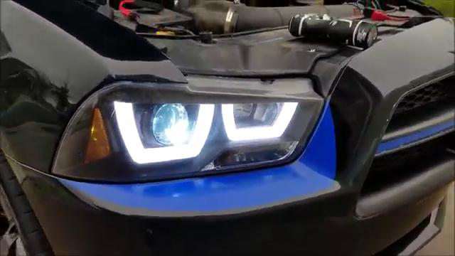 How to Change HID Ballast in 7th Gen Dodge Charger Projector