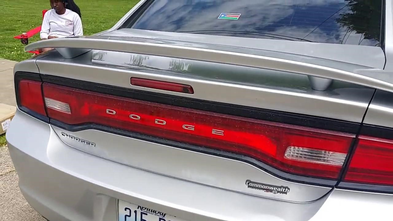 The Guide to Install Spoiler on 2011-2014 Dodge Charger
