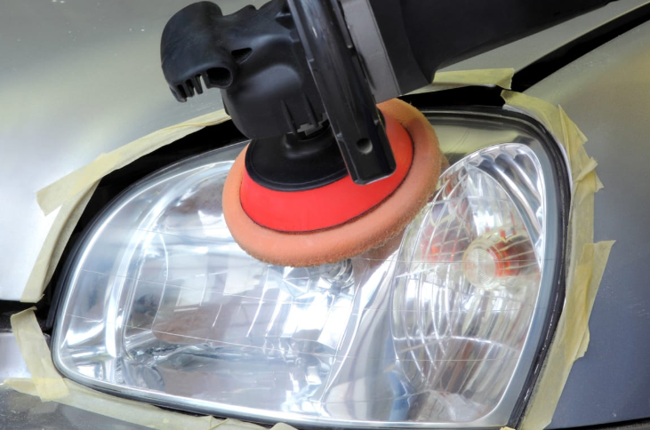Car Headlight Cleaner