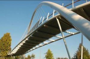 drive on a bridge